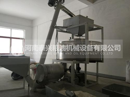 100型全自动石磨面粉机