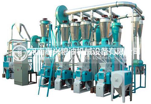 4组面粉机械成套设备