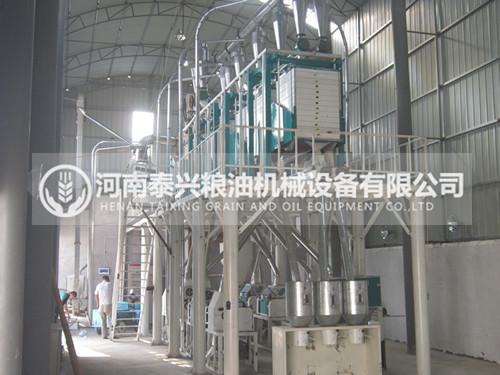 40吨级面粉机设备