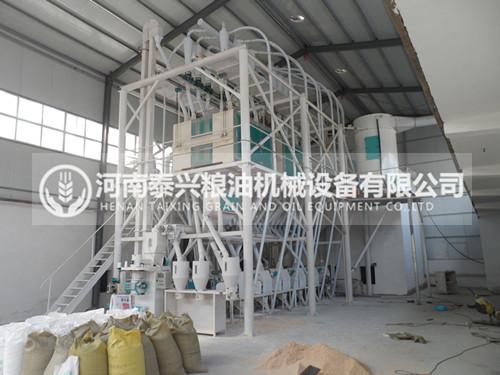 50吨级面粉机设备