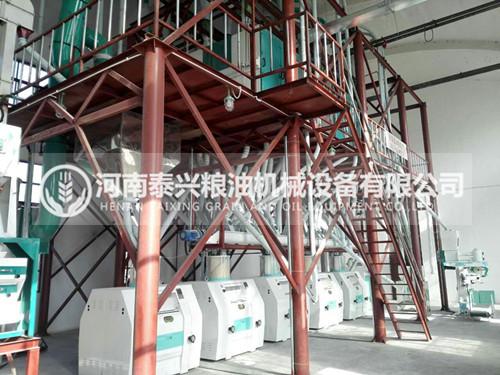 60吨级面粉机
