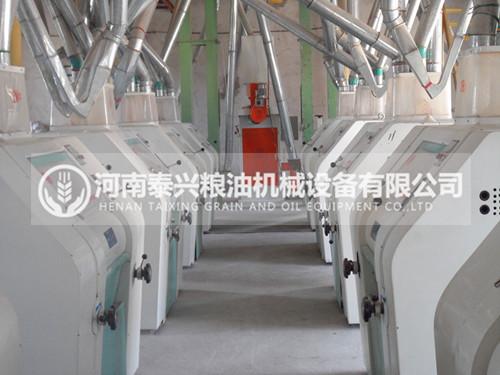 100吨级面粉机械设备