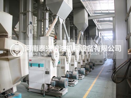 100吨级小米加工机械