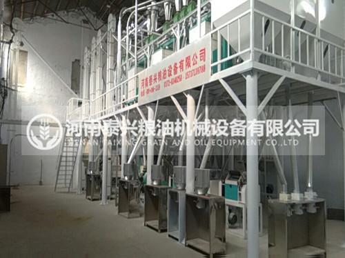 50吨级玉米加工机械