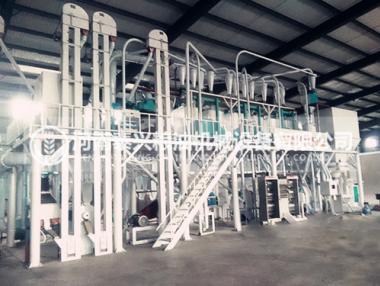 30吨玉米加工机械