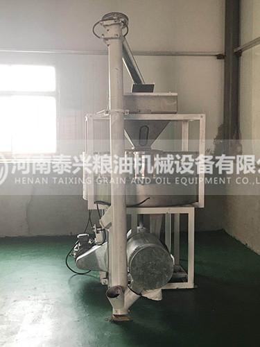 洛阳伊川县石磨面粉机单机安装案例