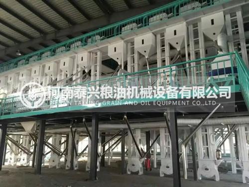 100吨级大米加工成套设备