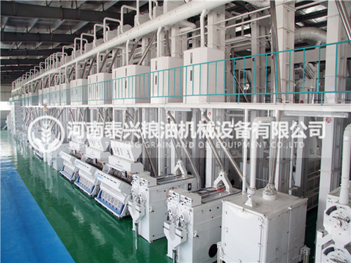 200吨级大米加工成套设备