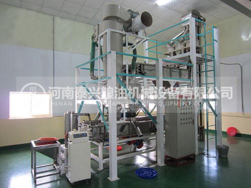 苦荞制米、制茶设备